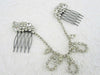 Rhinestone Hair Combs