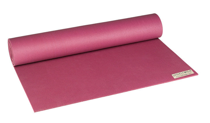 Jade Yoga Mat In Raspberry Kim Michie Yoga Bags And Cabana Totes
