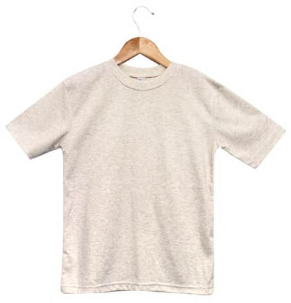 Baby Sublimation T Shirt Oatmeal