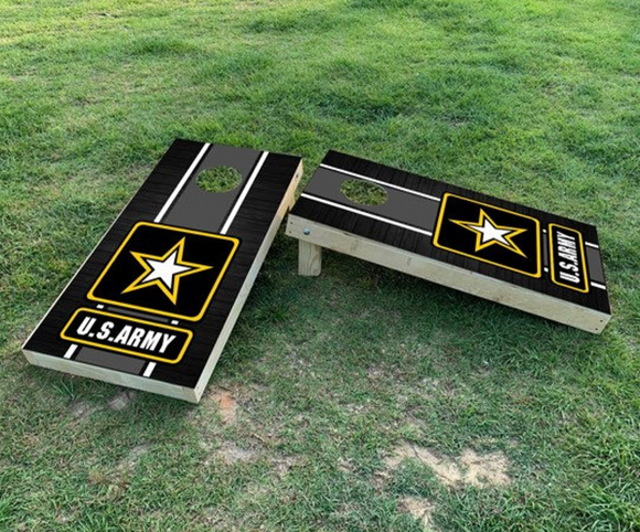 Cornhole Wrap Set US Army