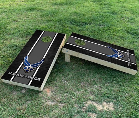 Cornhole Wrap Set US Air Force