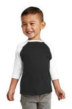 Baseball Jersey 3/4 T-Shirt Toddler 2T-5/6