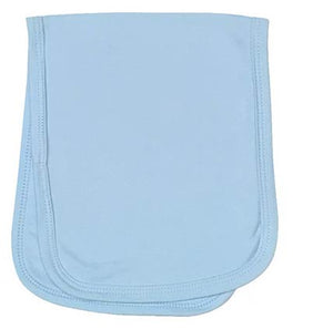 Baby Burp Cloth 2 Ply Sublimation Blue