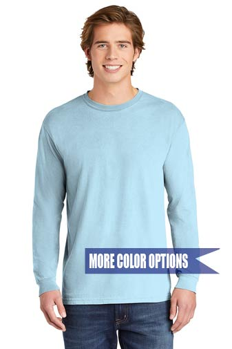 Comfort Colors Heavyweight Ring Spun Long Sleeve Tee Adult S-XL