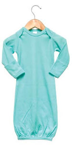 Baby Sleeping Gown w/ Mittens Sublimation Mint