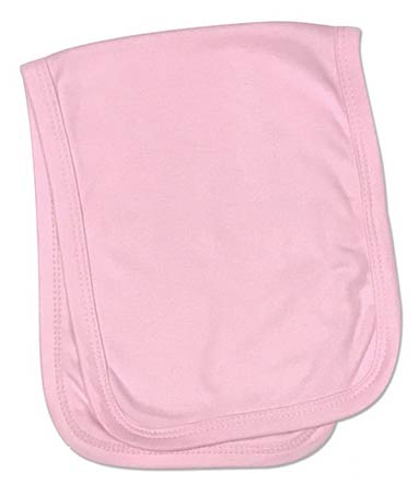 Baby Burp Cloth 2 Ply Sublimation Pink