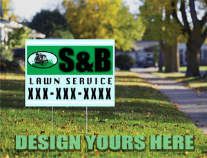 Yard Sign 18 in x 24 in