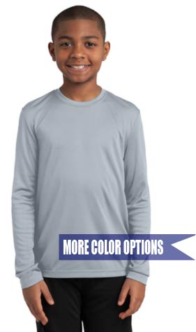 Performance Long Sleeve Tee Youth XS-XL