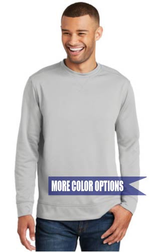 Performance Fleece Crewneck Sweatshirt Adult S-4XL
