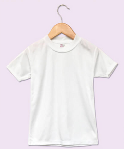 Baby Sublimation T Shirt White