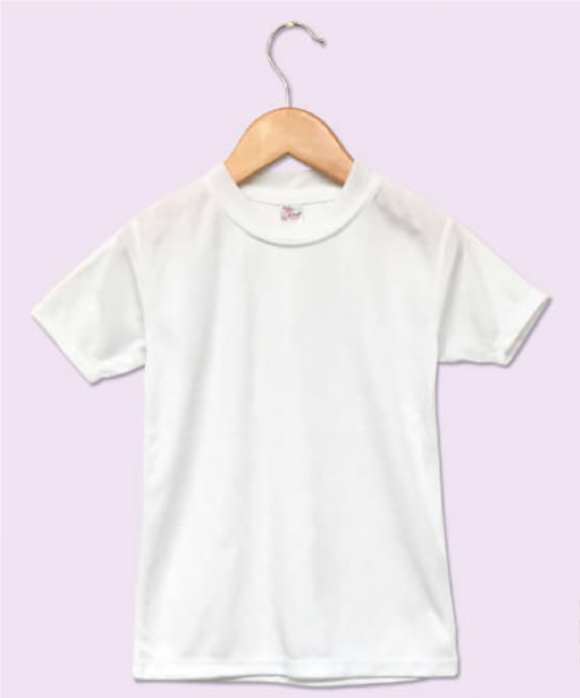 Toddler Sublimation T Shirt White
