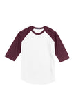 Baseball Jersey 3/4 T-Shirt Adult 2XL-6XL
