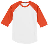 Baseball Jersey 3/4 T-Shirt Youth YXS-YXL