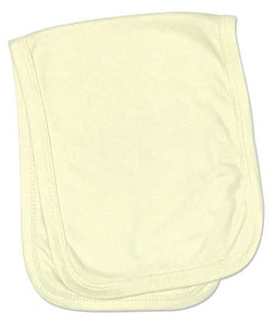 Baby Burp Cloth 2 Ply Sublimation Yellow