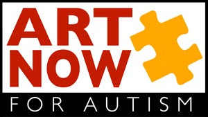Art Now for Autism logo