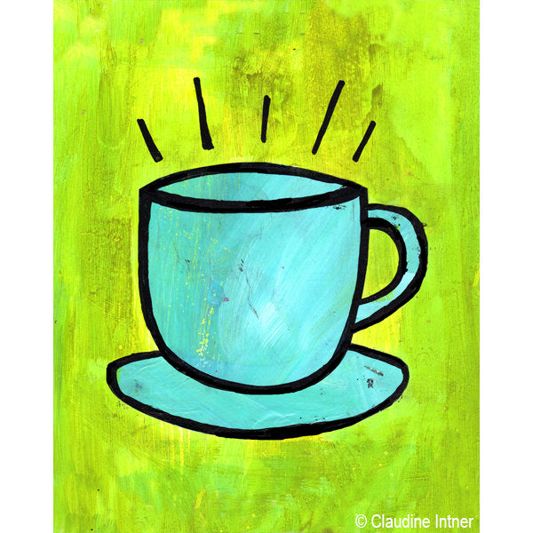 Coffee Cup Art Print