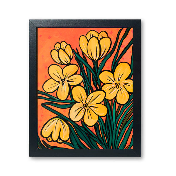 Yellow Crocus Print
