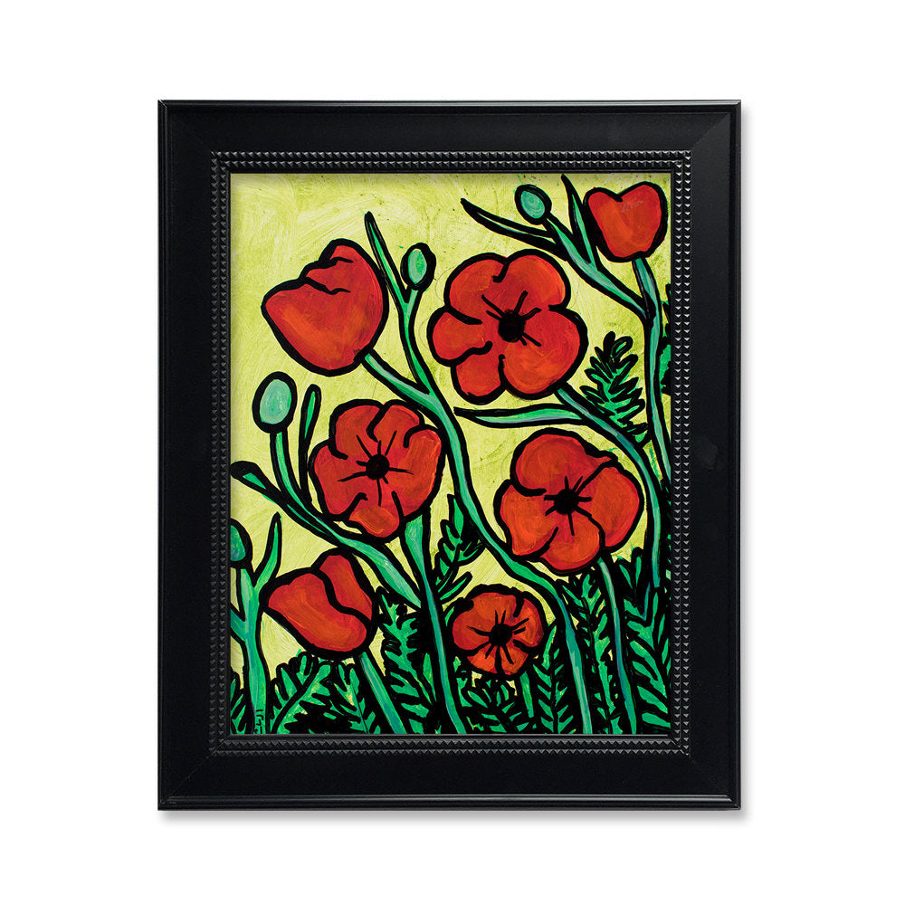 Red Poppies Print