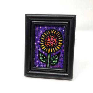 Small Sunflower Painting