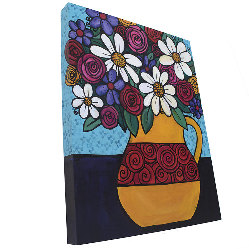Flower Painting - Bright Cheery Colors