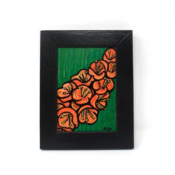 Small Tropical Flower Painting