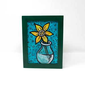 Small Yellow Flower Painting