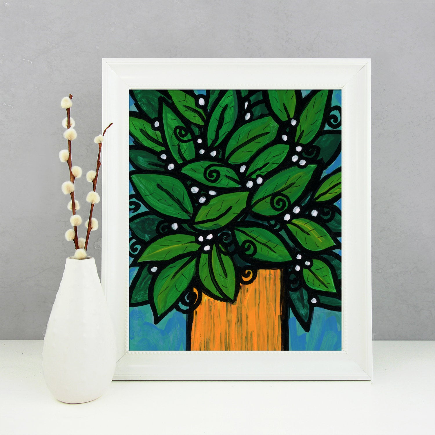 Plant Still Life Print - Plant Wall Art Print for Any Room