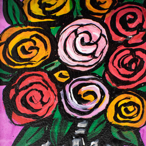 Small Rose Painting