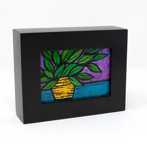 Mini Plant Still Life Painting