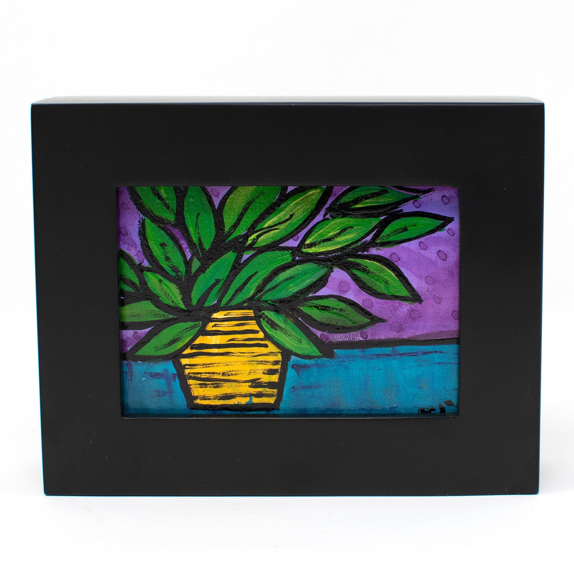 Mini Original Plant Painting