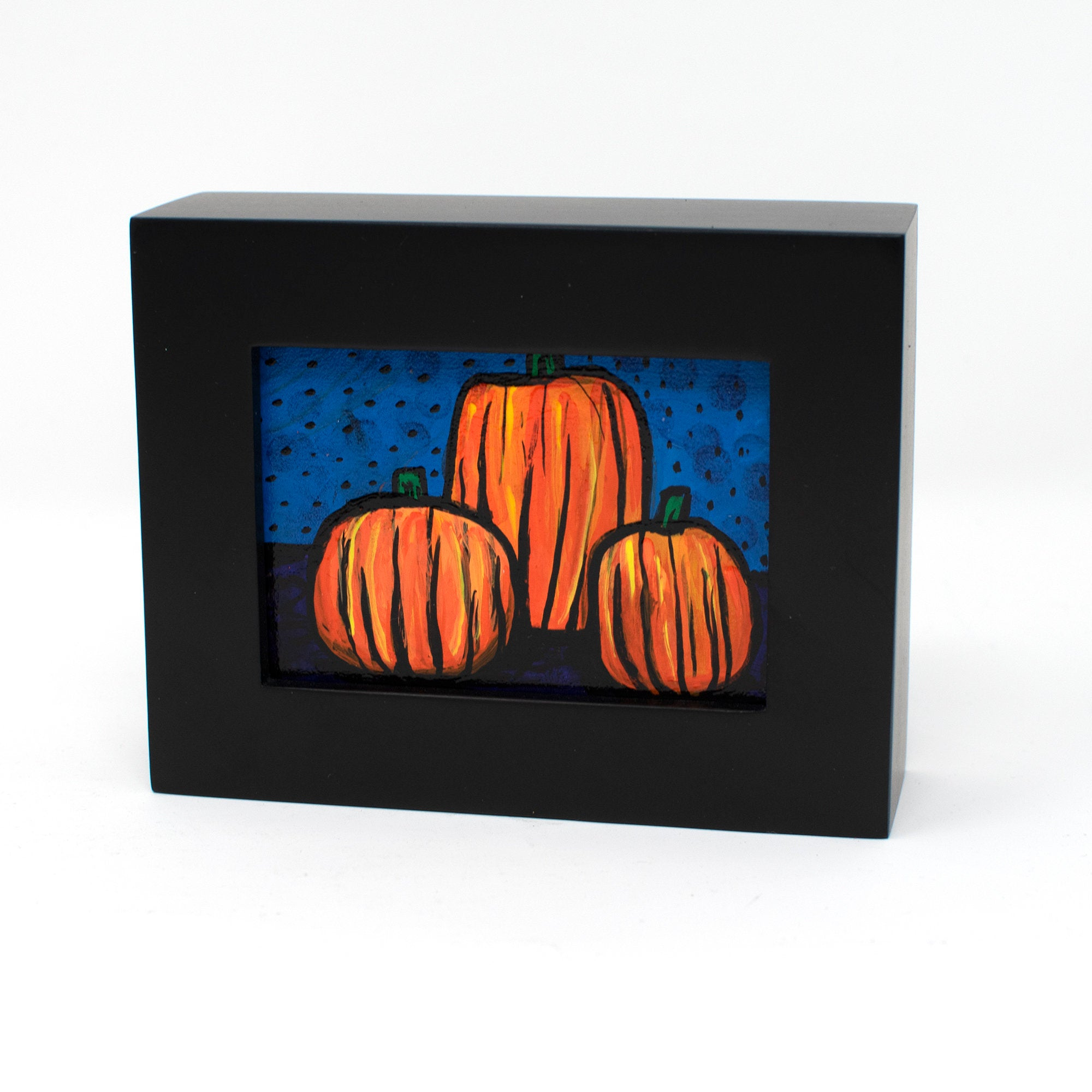 Mini Pumpkin Painting - Halloween Fall Decor