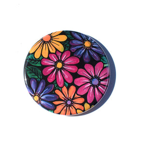 Gerbera Daisy Pocket Mirror, Magnet, or Pin Back Button