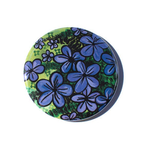 Purple Creeping Phlox Magnet, Pin, or Pocket Mirror