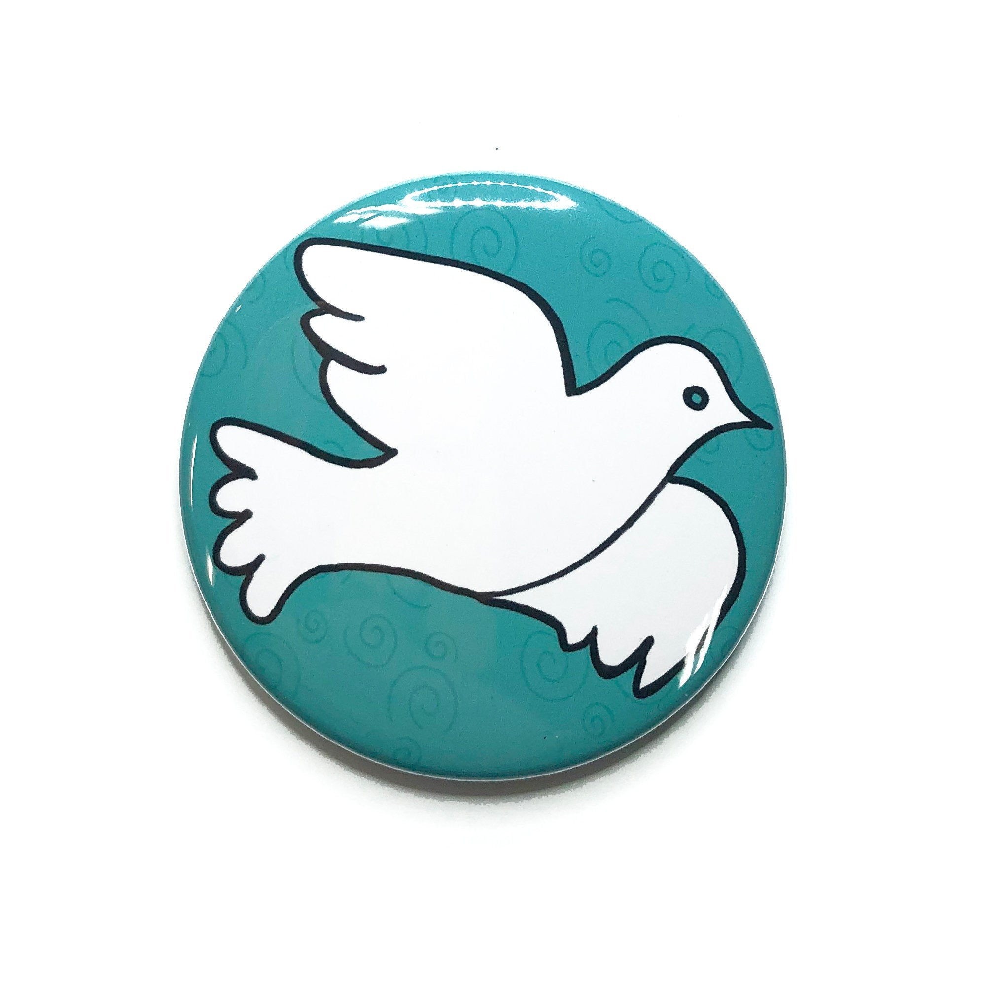 Dove Magnet, Pin, or Mirror