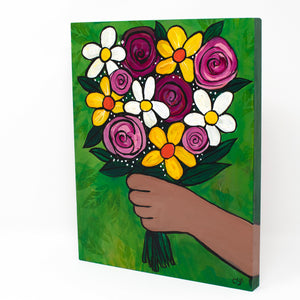 Flowers For You - Original Floral Painting