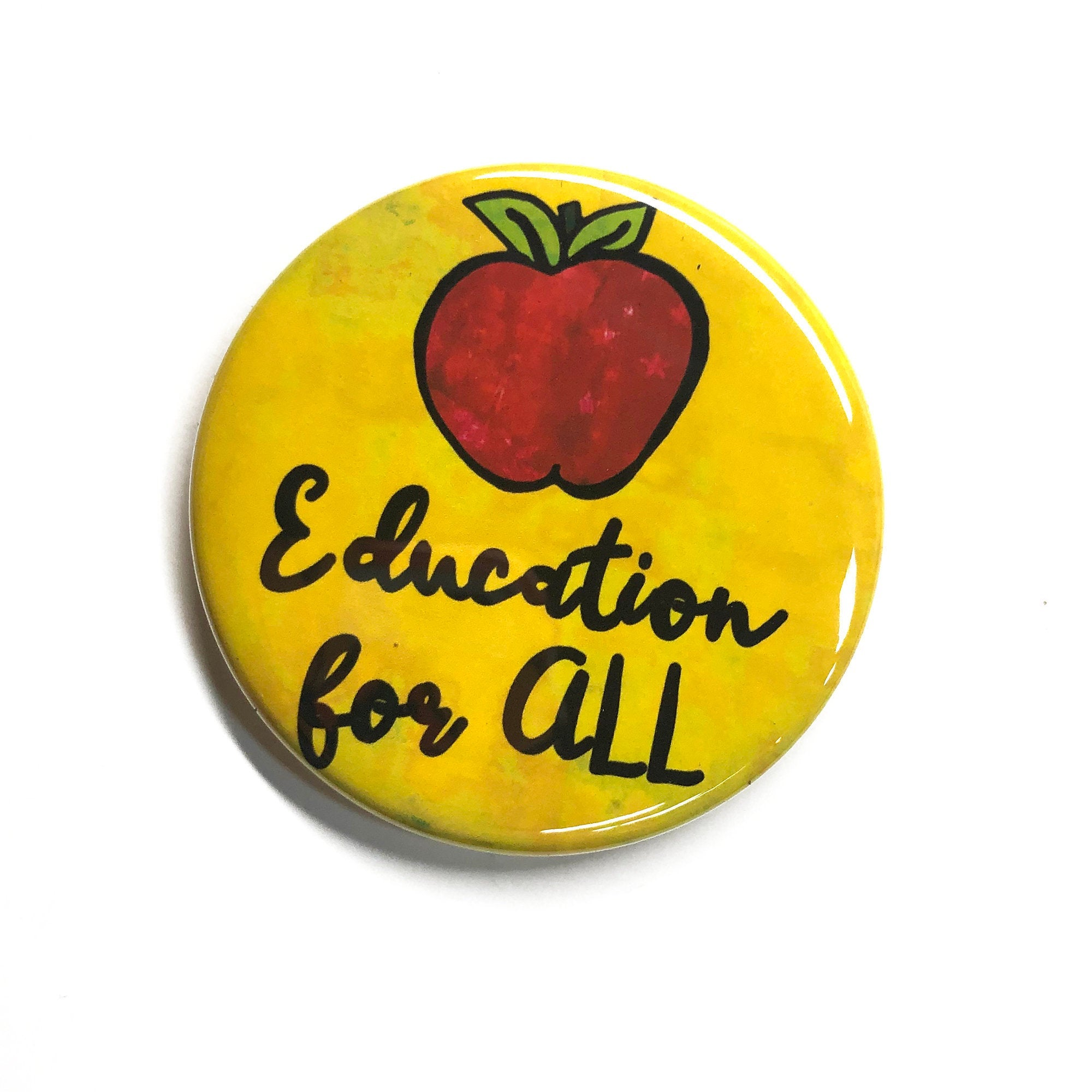 Education for All Pin or Magnet