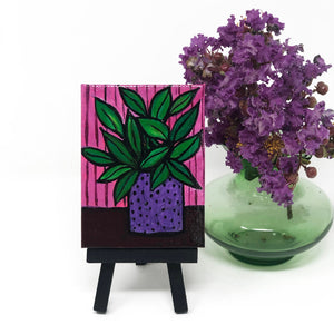 Mini Pathos Plant Painting