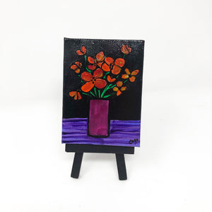 Small Poppy Painting