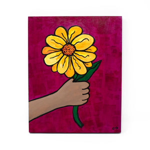 Flower for Mom Painting
