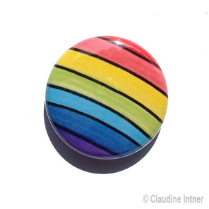 Rainbow Pin, Magnet, or Mirror