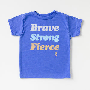 Little Boys' | 'Brave Strong Fierce' T-Shirt