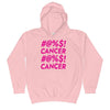 girl's childhood cancer hoodie