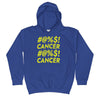 boy's childhood cancer hoodie