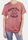 Women's | 'Fighting Cancer with Catitude' T-Shirt