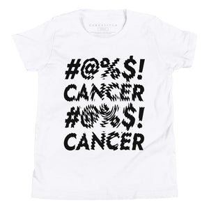 Youth Unisex | '#@%$! Cancer Distort' Tee