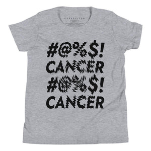 fashionable childhood cancer kid's tee