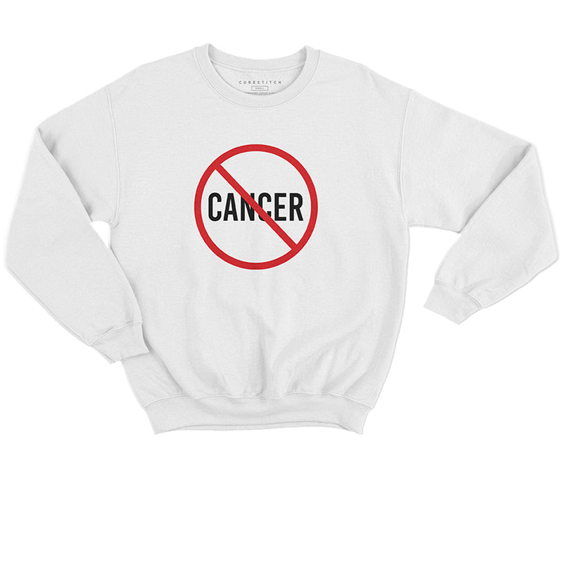 Unisex | 'No Cancer' Sweatshirt