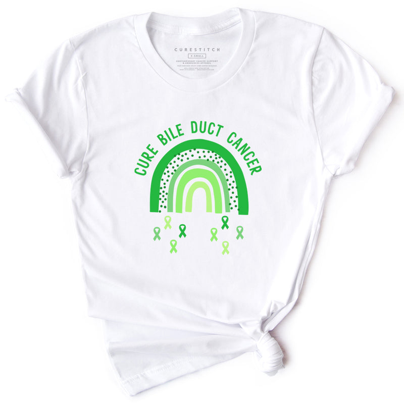 'Rainbow' Bile Duct Cancer T-Shirt