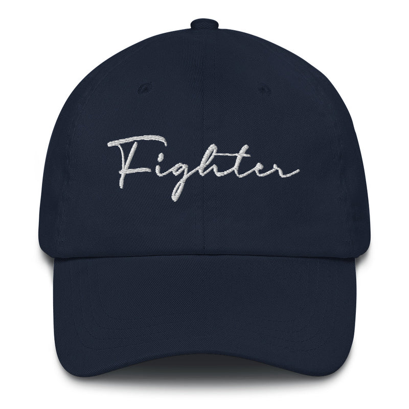 """Fighter"" Embroidered Hat"
