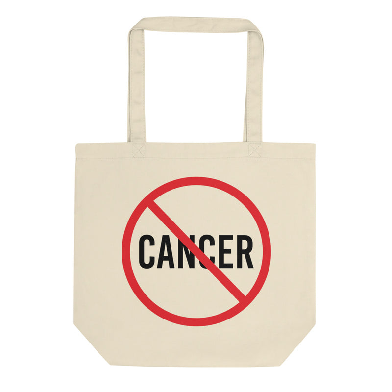 'No Cancer' Organic Tote Bag